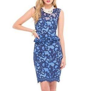 Lilly Pulitzer KIRI Corded Lace Peplum Dress